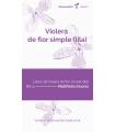 Violera de flor simple lila (Matthiola incana)